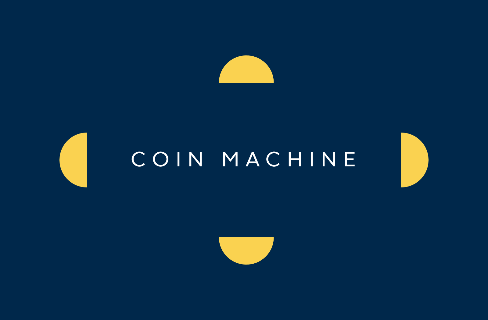 Introducing Coin Machine 🎰